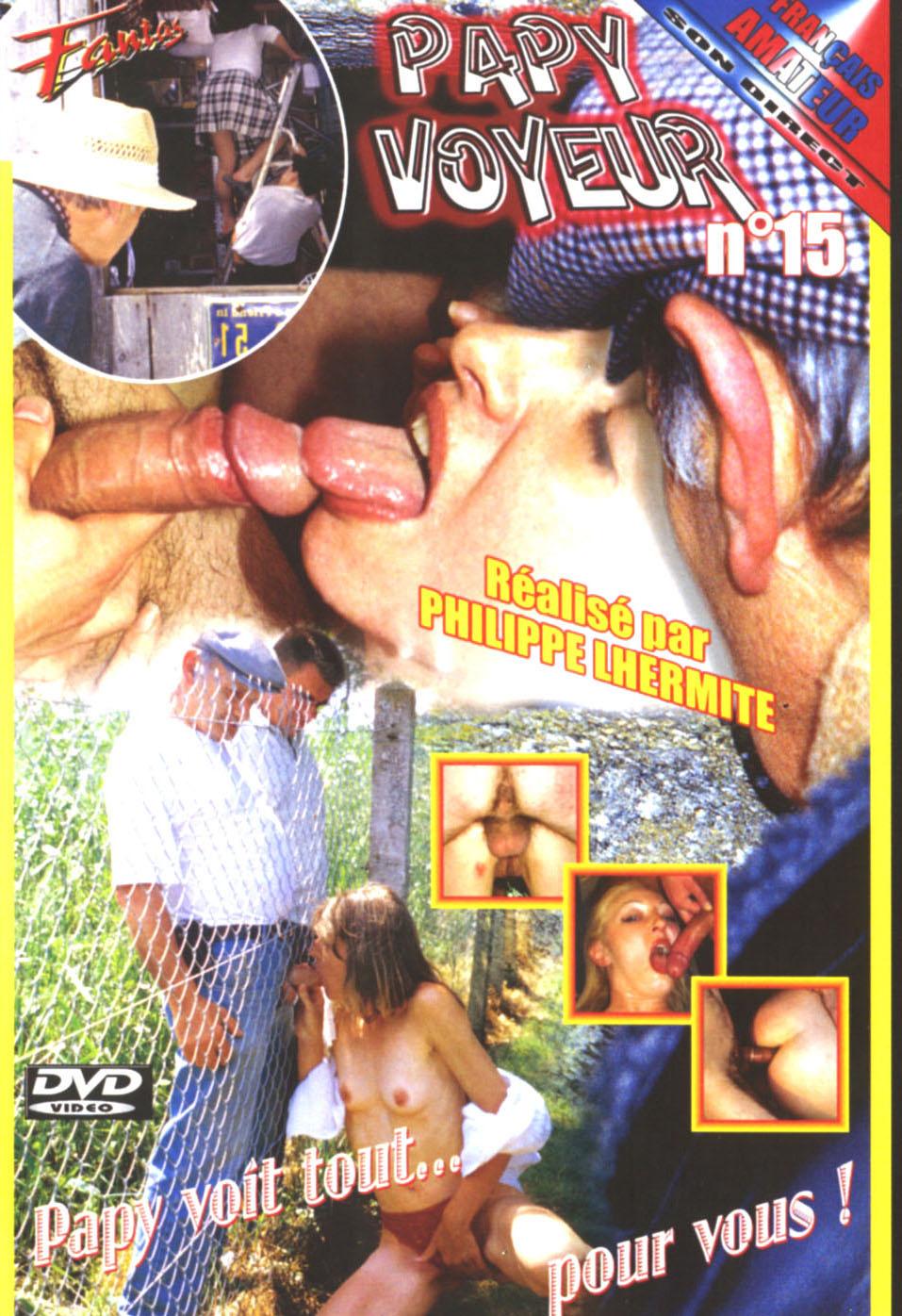Скачать порно Дедушка-вуаерист 15 / Papy Voyeur 15 (2000) VOD